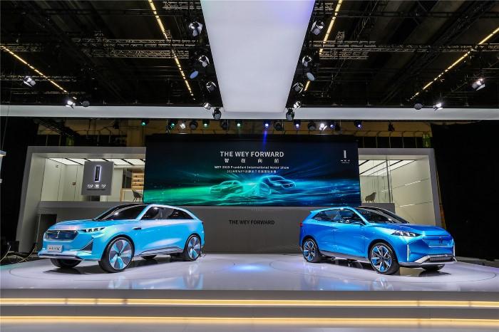 2019法兰克福车展WEY品牌展台