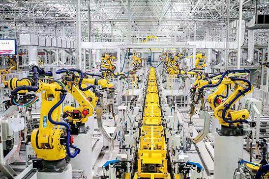 重庆工厂生产流水线